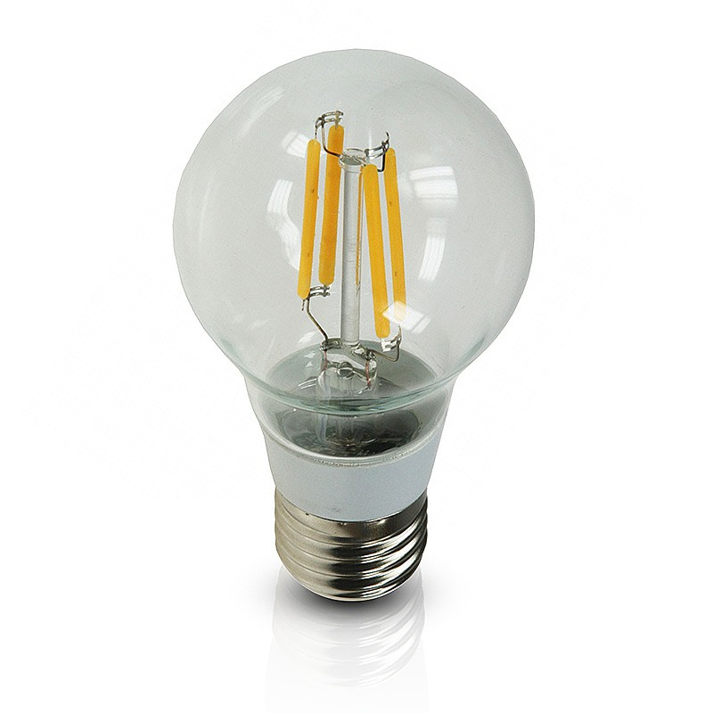 chilitec led gl hlampe 4w 40w e27 filament bulb gl hfadenlampe klar warmton led retro shop. Black Bedroom Furniture Sets. Home Design Ideas